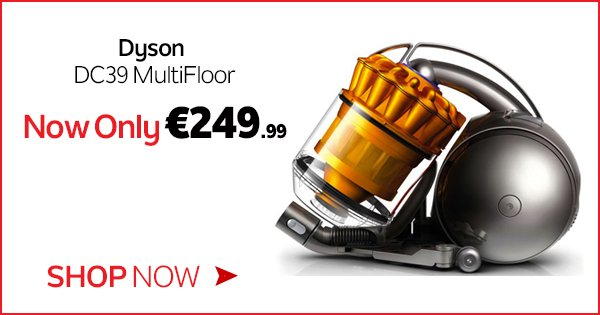 Never fear of running out of vacuum bags again w/ the Dyson DC39 MultiFloor - https://t.co/XXA66771Jr https://t.co/rHmZm64H11