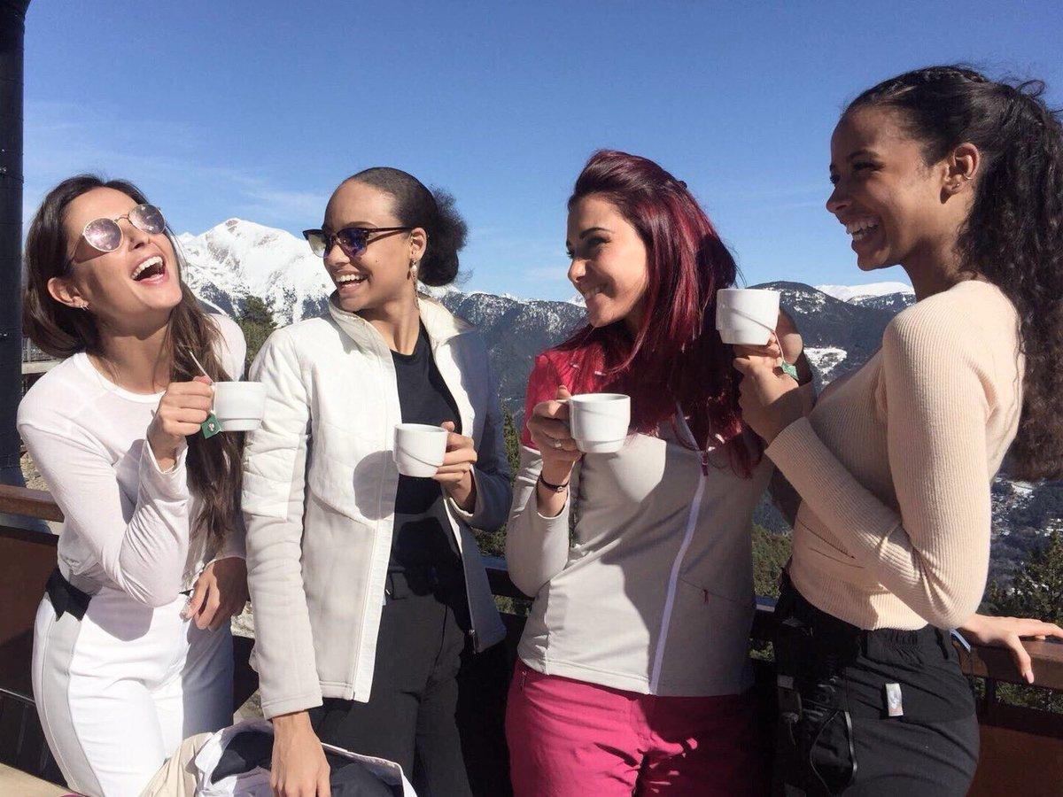 #VoyageDintegration : Petite pause après le ski ☕️ 😋 #AndorraParkHotel