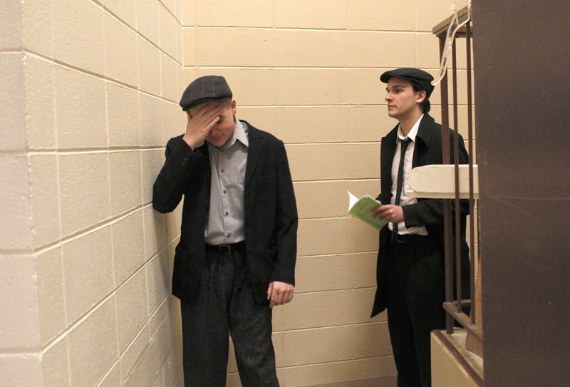 Central students portray Holocaust in the Warsaw ghetto