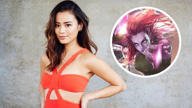 Jamie Chung will star as Blink in Fox's Marvel pilot.