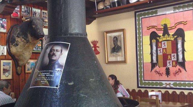 El PP expresa su preocupación por el daño que se está haciendo al bar franquista Casa Pepe