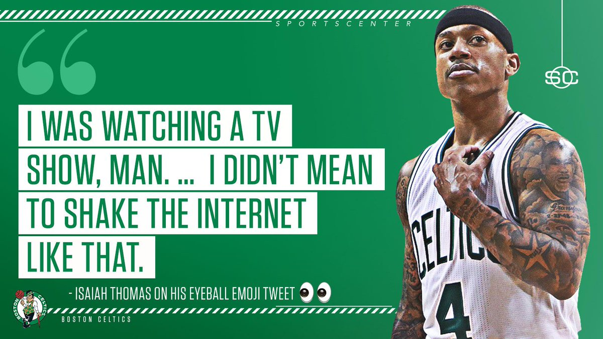 The NBA trade deadline is crazy, but apparently not as crazy as whatever TV show IT4 is watching.