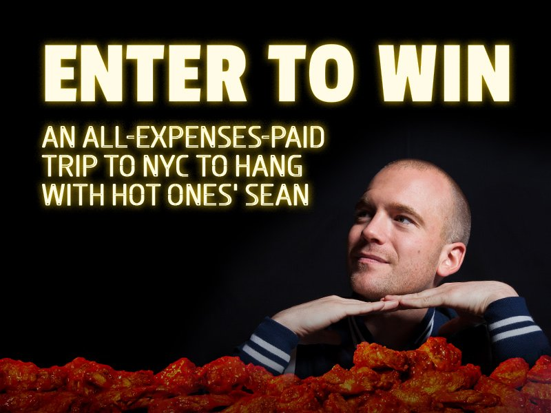 #HOTONES FANS.   We want to fly you to NYC to kick it with Sean.   Let's get sauced: https://t.co/ut6NMQD2Lp