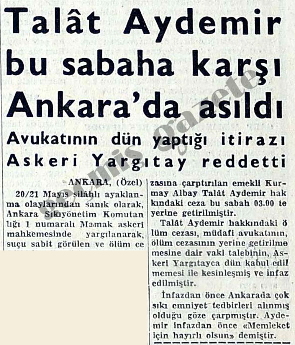 RT @abdullahciftcib: 8-Türkiye'de kendi başına darbe yapmak isteyenlerin sonu Talat Aydemir gibi olur. https://t.co/Fgg94WoVKJ