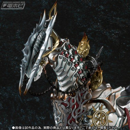 【昨日の話題】『牙狼<GARO> ~MAKAISENKI~』白夜騎士・打無が駆る魔導馬「疾風(ハヤテ)」が魔戒可動から立