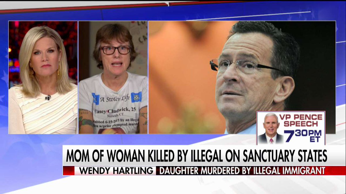 "Wendy Hartling: ""We tragically lost our children to criminal, illegal aliens that should've been deported..."" #First100"