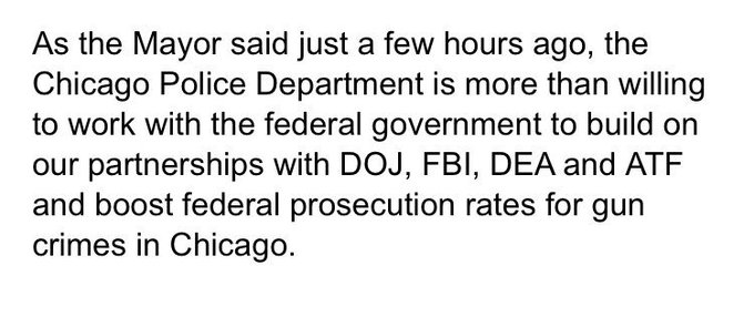 If Pres. Trump wants to help Chicago officials, here's what CPD Superintendent Johnson said they needed the last time the president tweeted