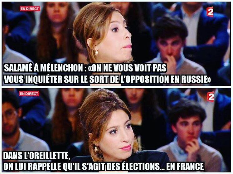 Léa Salamé se trompe d'élections ? #Emissionpolitique @LeaSalame @JLMelenchon; + de photos/vidéos sur⤵️ https://t.co/ZKawab4veJ