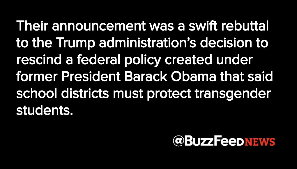 States vow to keep protecting transgender students after Trump rolls back rules https://t.co/xEEZGK04fq