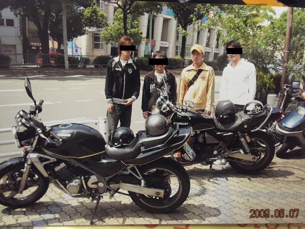 2009年ハルヒの聖地巡礼にバイクで行くオタクかヤンキーかわからん地元のオタク