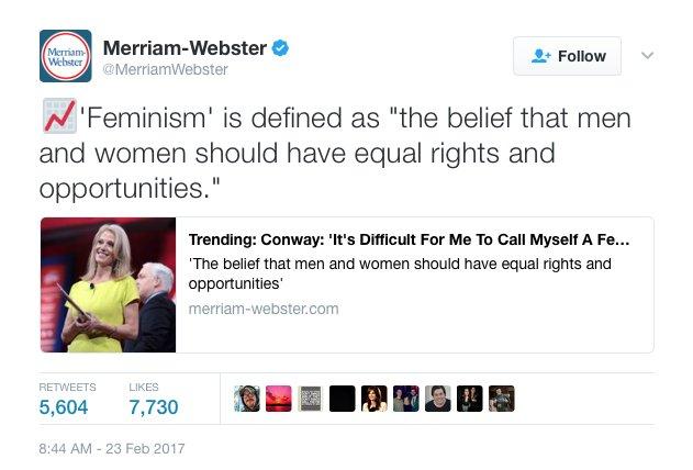 Merriam-Webster strikes again. ⚡️
