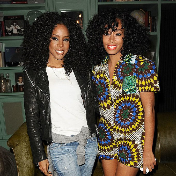 Solange shares footage from her #ASeatAtTheTable recording session with Kelly Rowland: https://t.co/YYHHMKduoS