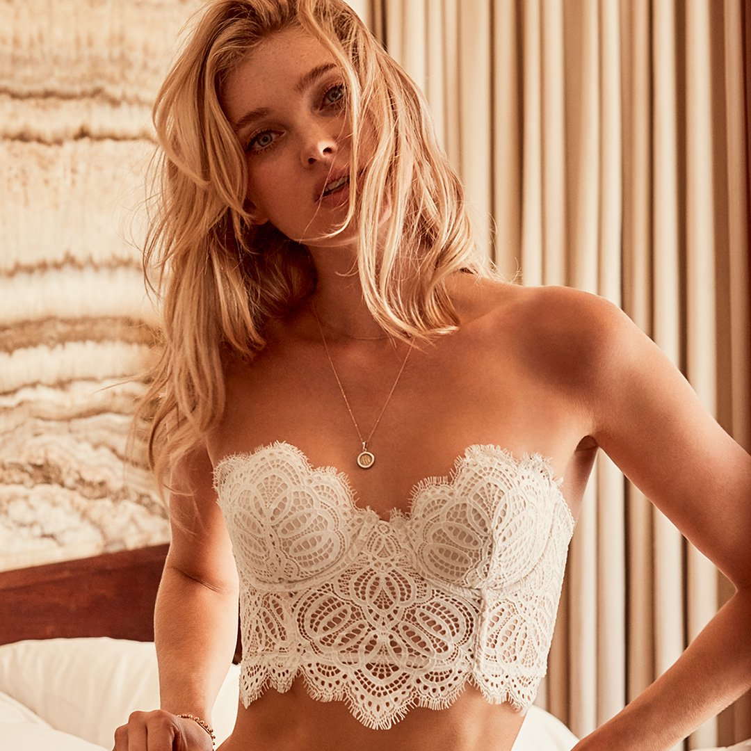 Dream sequence starring the new scalloped lace. https://t.co/308Wi0RNqs https://t.co/nrZ5ycq1T0