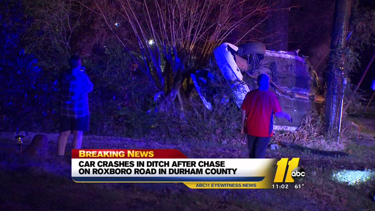 #BREAKING Girl, 15, crashes after high-speed chase in Durham https://t.co/GmhV4m4MgS