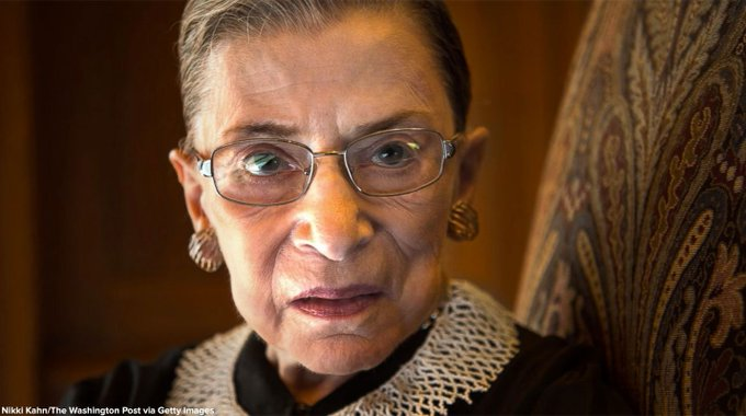 Ruth Bader Ginsburg: Women 'here to stay' on the Supreme Court. https://t.co/xJJQ7lwF7d
