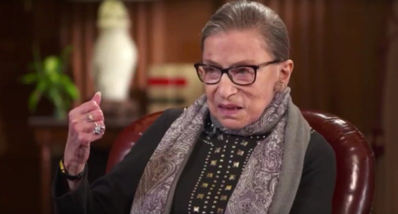 Ruth Bader Ginsburg feels 'hope' after seeing public uprising https://t.co/mUNd4CoZ5d