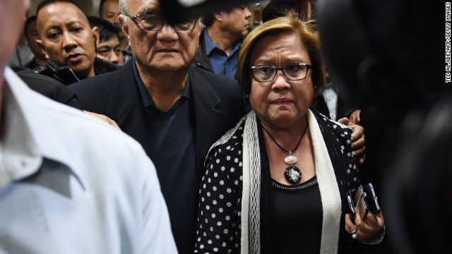 Leila de Lima, critic of Philippines leader Duterte, arrested in what supporters say is a politically motivated feud https://t.co/8kVfLoYQhW