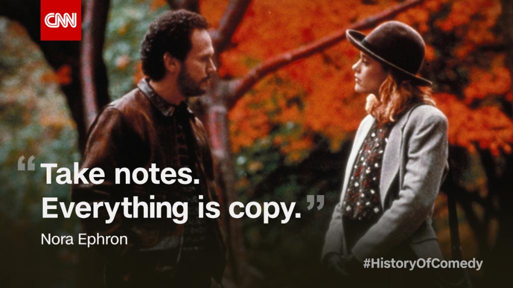 What kind of movie would your relationship be? See how real life relationships create seriously funny material on #HistoryOfComedy tonight.
