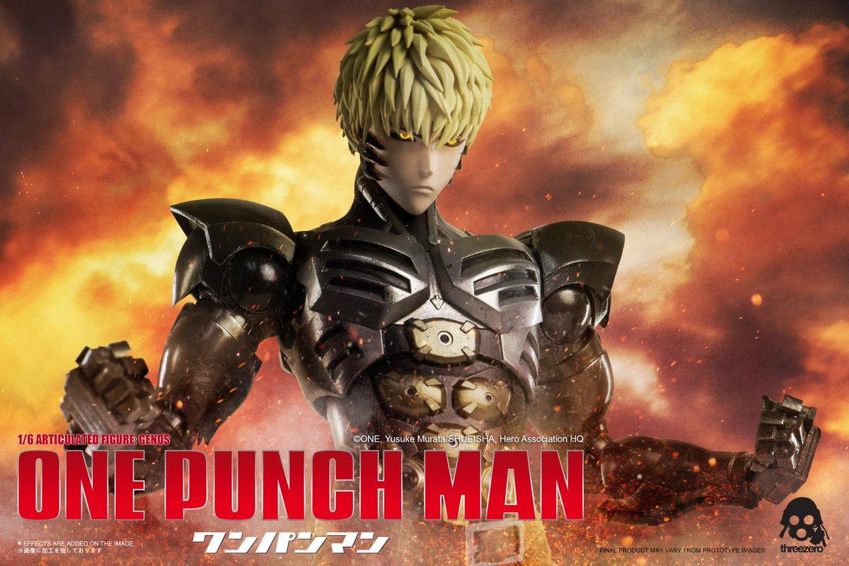 threezero「1/6可動フィギュア:ジェノス」のティザー画像です。詳細はお待ちください! #onepunchman