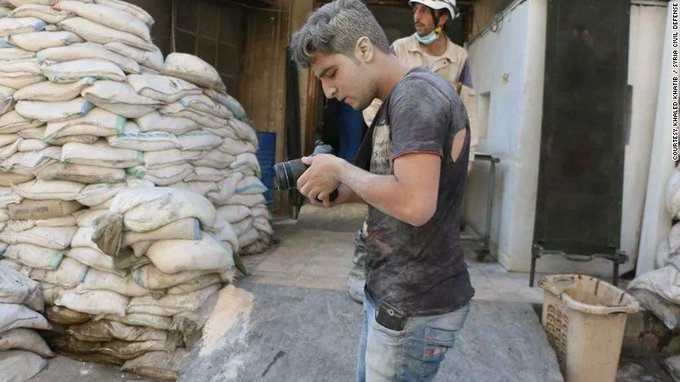 Meet the 21-year-old Syrian who risked his life for an Oscar-nominated documentary https://t.co/DwzHYJiyT1