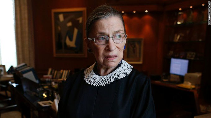 Justice Ruth Bader Ginsburg says we're not mindful enough of 'what makes America great' https://t.co/WXiAX86iEb