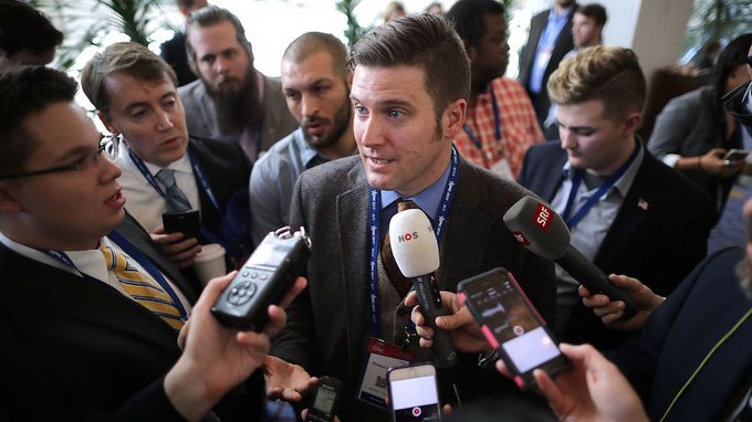 White nationalist leader Richard Spencer kicked out of CPAC https://t.co/z5bKos14fm