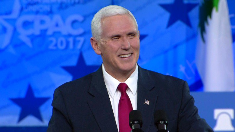 At CPAC, Vice President Pence rallies conservatives around Trump's agenda https://t.co/ewWzceL8Sz