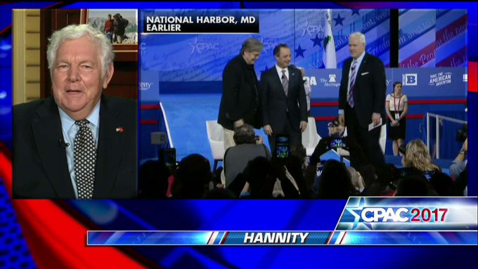 """.@WilliamJBennett: """"This was the right kind of debut for Steve Bannon...Direct, but not dark. He was straightforward, but not sinister.'"""