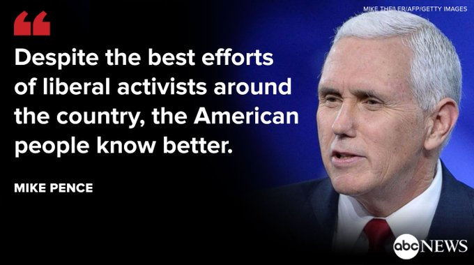 VP Mike Pence downplays town hall backlash, rallies conservatives at Conservative Political Action Conference. https://t.co/ADTdWeHgOs