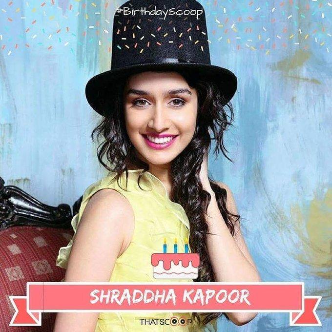 Happy Birthday to the beautiful Shraddha Kapoor!