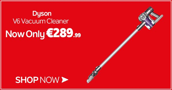 The Dyson V6 cordless vacuum gives you Dyson suction power without the hassle of a cord! https://t.co/DjOTLspCNf https://t.co/XXyvNT1pEL