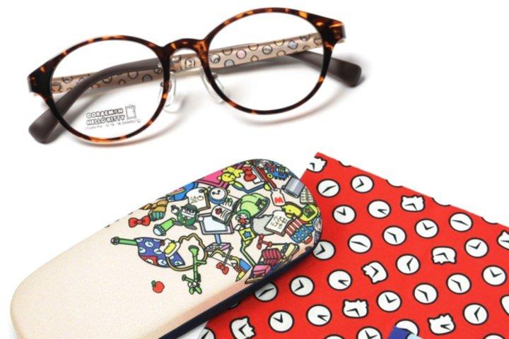 「ドラえもん×ハローキティ」デザインのメガネが登場--大人も子どもも使える24種類 - えんウチ