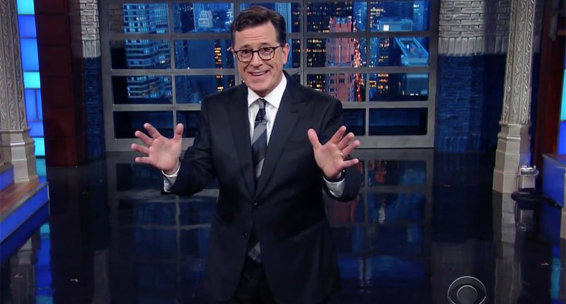 Colbert hilariously mocks hyper-sexual Arizona candidate: 'I miss the quiet dignity of Anthony Weiner' https://t.co/PkGHQoszoS