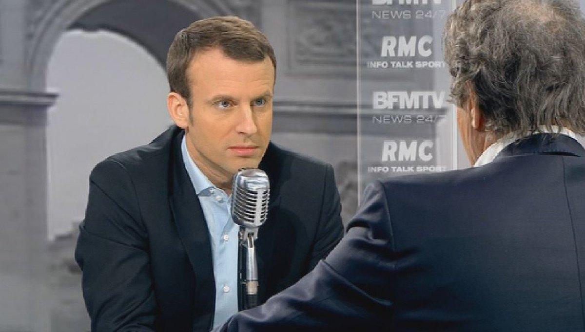 Aujourd'hui à 8h20, Emmanuel Macron est l'invité de #Bourdin2017. Ses idées, vos questions     https://t.co/LIEhlp6yN7