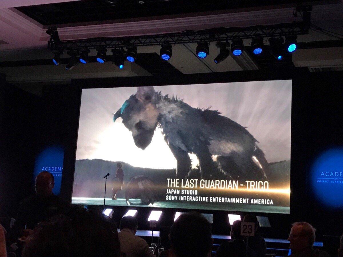 『20th Annual D.I.C.E. Awards』にて『人喰いの大鷲トリコ』が『Outstanding Achi
