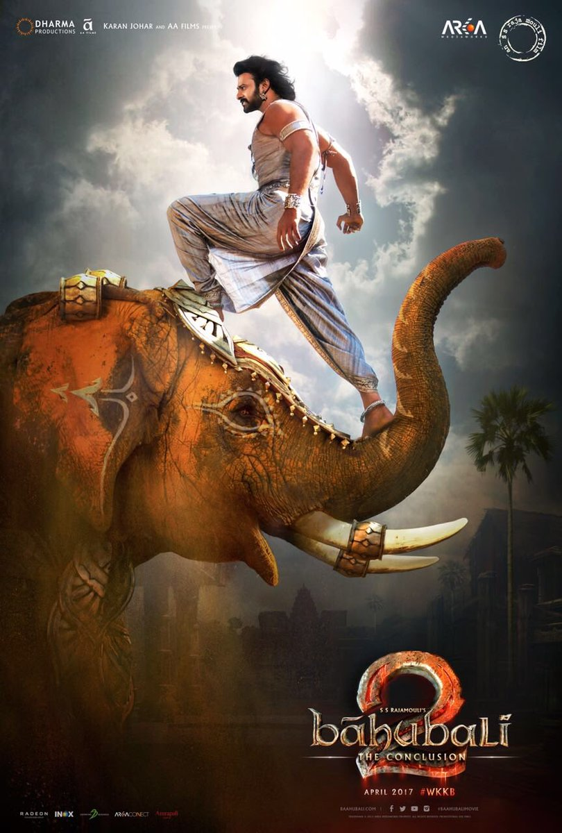 The BIGGEST motion picture is on its way..... #Bahubali2