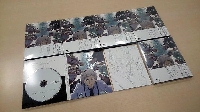 【本日発売】BD&DVD第9巻は、いよいよ組合(ギルド)編に突入です!! 映像特典「ようこそ!上村探偵社」は福沢諭吉役・