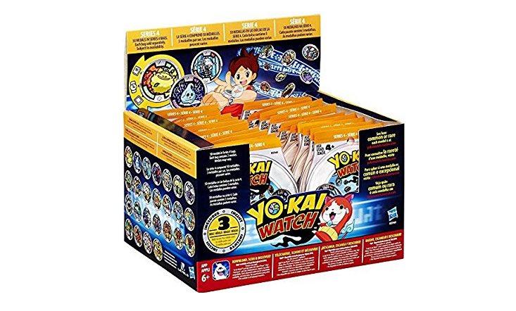 しゅらコマきたー!US版 妖怪メダルシリーズ4〈22パック開封〉妖怪ウォッチ  Yo-kai Watch