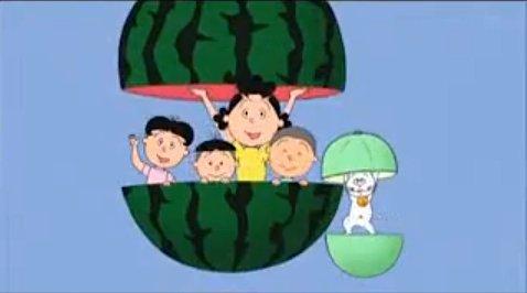 東芝が「サザエさん」のスポンサー撤退して高須クリニックになったとしたら、サザエ達がYES!高須クリニックの看板持ってるO