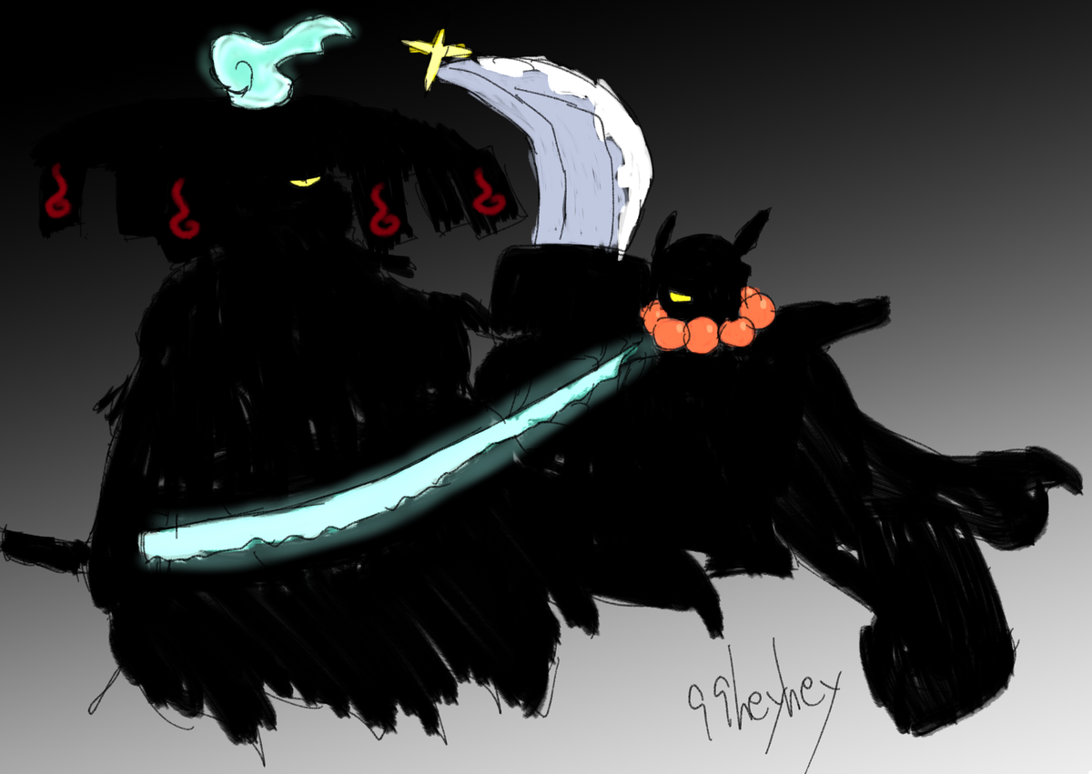 黒い妖怪ウォッチ