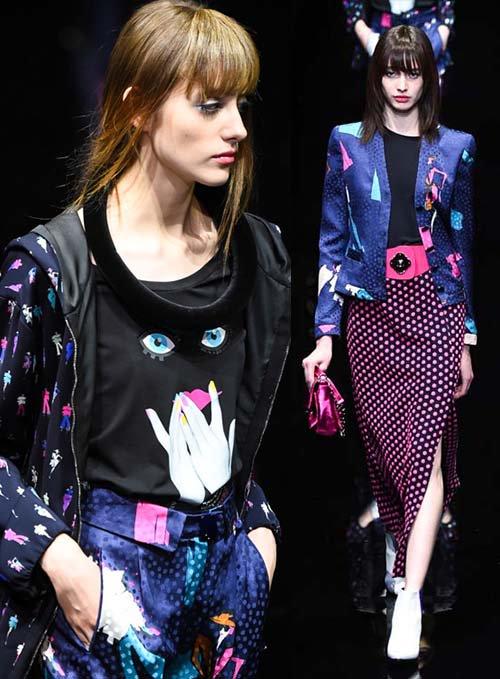 RT @fashionpressnet: エンポリオ アルマーニが先ほどミラノで発表した新作コレクション 全ルック公開 https://t.co/tHQpkok267 https://t.co/fVCvgTnwDT