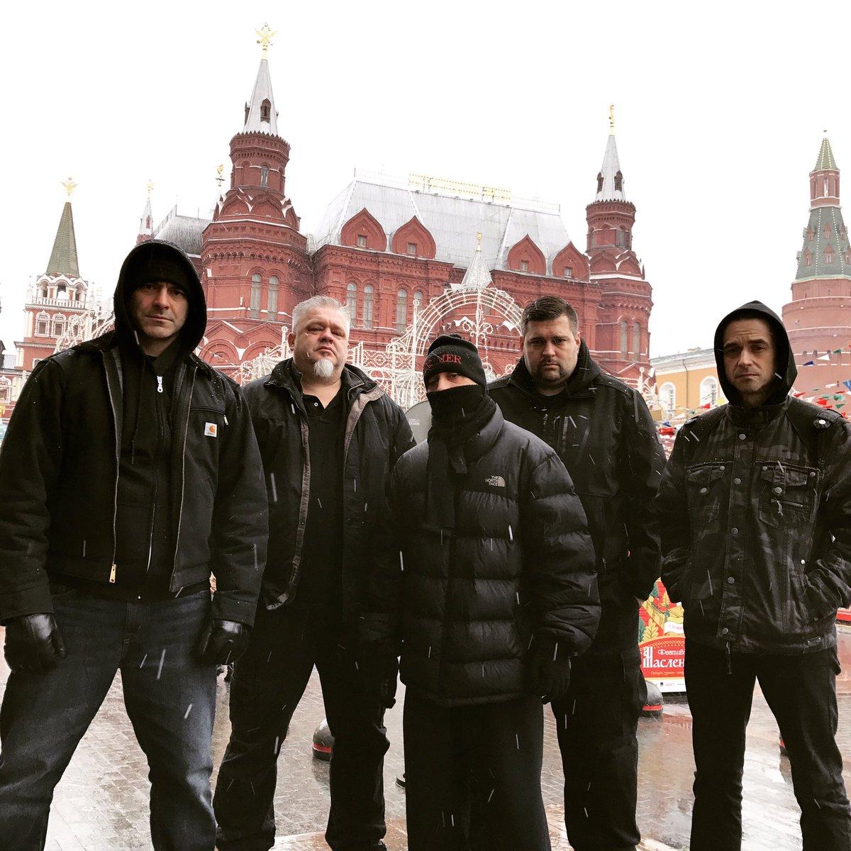 Red Square Rage! #russianrage2017 #thrashmetal #moscow #redsquare #russia #theragingti ...
