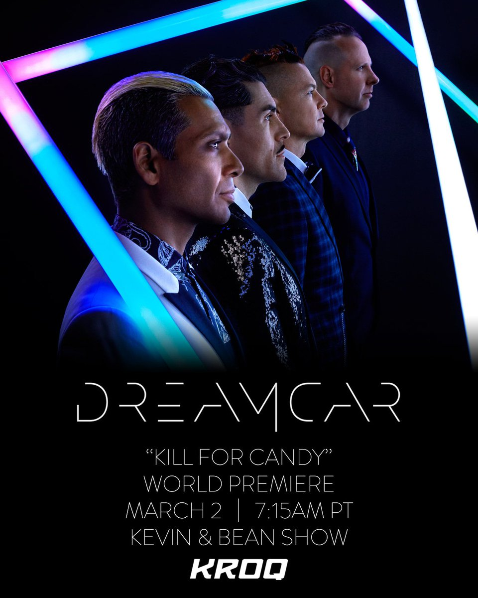 RT @dreamcarmusic: MARCH 2 | #DREAMCAR | KILL FOR CANDY https://t.co/1VJ1mGAEwg