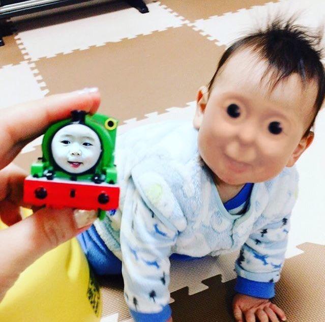 おもろいよりもあ、似てる。。。ってなった#テラフォーマーズ #赤ちゃん