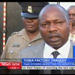 Thika Factory Tragedy leave four people dead and two others injured