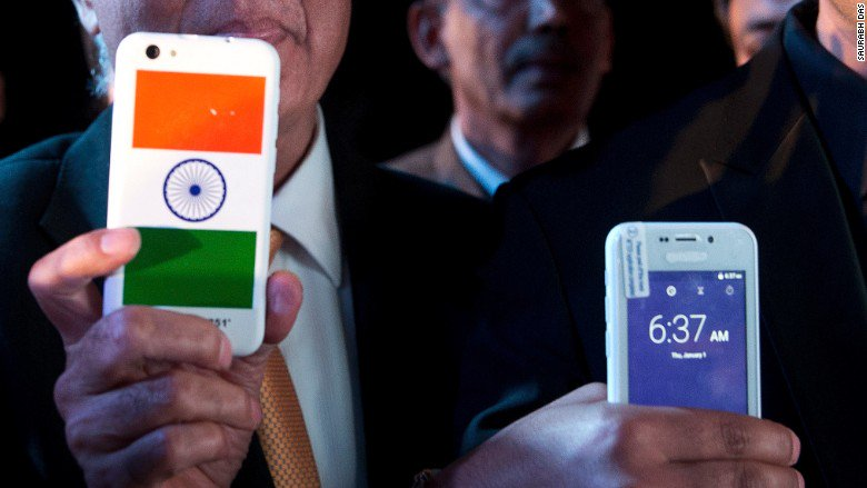 Man behind India's $4 smartphone arrested on suspicion of fraud