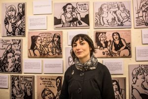 "MON 4pm: ""Other Russias"" — graphic journalist Victoria Lomasko. Open to public https://t.co/UMlk9Byq9a #YalePoynter https://t.co/VowwHZ7soU"
