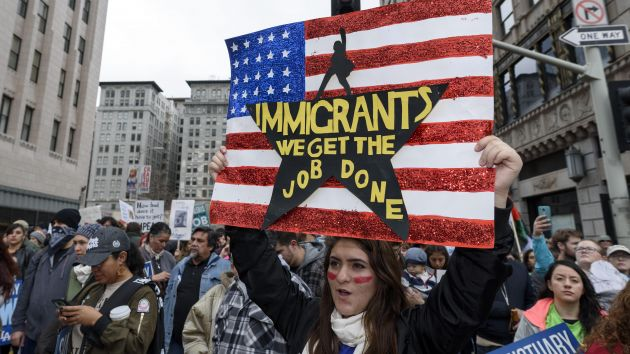 """The world has got to see how this country is treating its immigrants."""