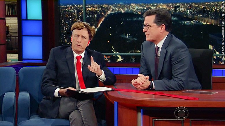 """Jon Stewart will return to """"The Late Show with Stephen Colbert"""" on Monday night"""
