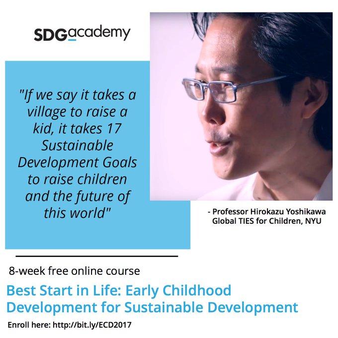 Raising children and the future of our world. Join @nyusteinhardt professor for #ECDMOOC: https://t.co/HKZU7z7sBi #EarlyMomentsMatter